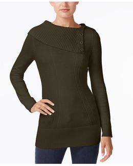 Envelope-neck Sweater, Created For Macy's
