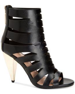 Nadeline Cone-heel Dress Sandals
