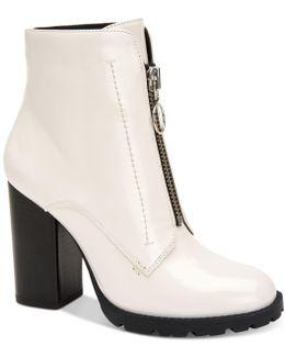 Pilar Block-heel Booties