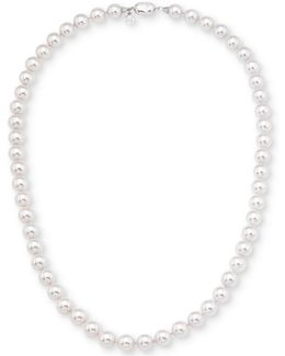 Imitation Pearl Collar Necklace