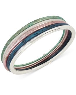 5-pc. Set Patina Bangle Bracelets