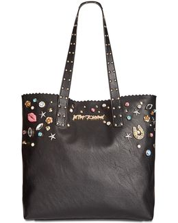 Pearly Jewels Large Tote