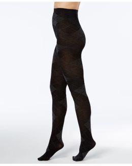 Women's Argyle Sweater Tights