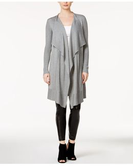 Open-front Waterfall Cardigan
