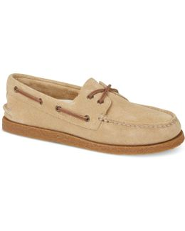 Men ́s Suede Boat Shoes