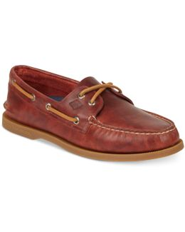 Men's A/o 2 Eye Wax Leather Loafers
