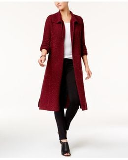 Cable-knit Duster Cardigan