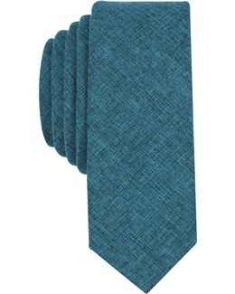 Men's Perkino Solid Skinny Tie