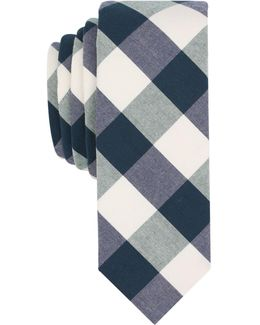 Men's Mccord Check Skinny Tie
