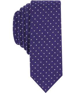 Men's Mundo Dot Skinny Tie