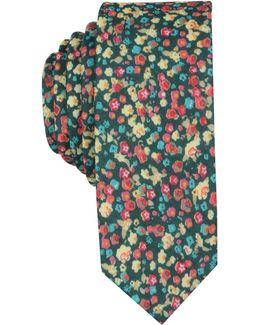 Men's Gayle Floral Skinny Tie