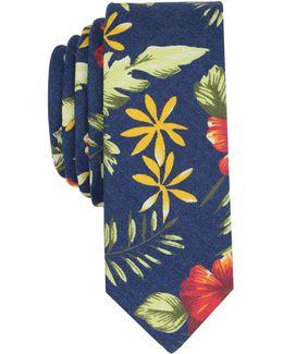 Men's Westland Floral Skinny Tie