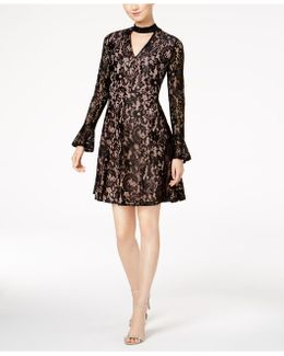 Gigi Lace Choker Dress