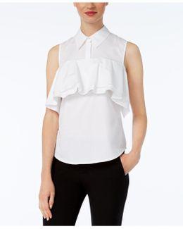 Basinger Tiered Flounce Shirt