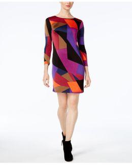 Camellia Colorblocked Bodycon Dress