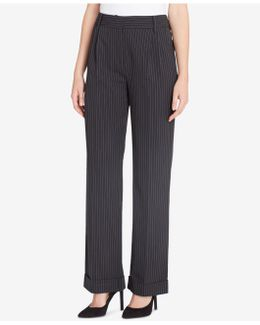 Giraud Pinstripe High-rise Pants