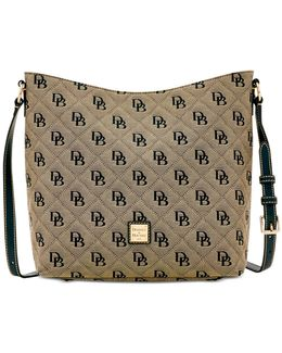 Signature Quilted Hobo Crossbody