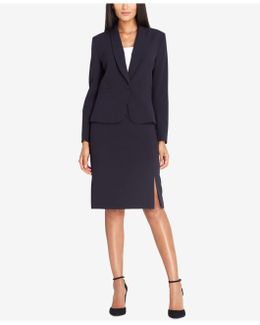 One-button Skirt Suit