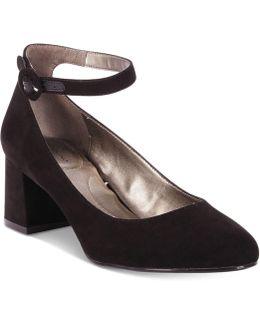Odear Block-heel Mary Jane Pumps