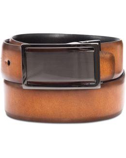 Men's Reversible Plaque Belt