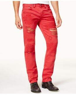 Men's Slim-fit Ripped Jeans