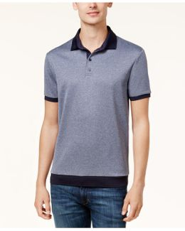Men's Slim-fit Colorblocked Polo