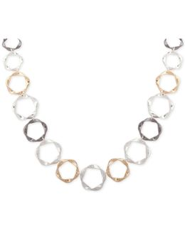 Twisted Circle Collar Necklace