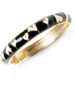Heart Bangle Bracelet