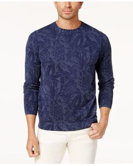 Men's Valverde Tropical-print Sweater