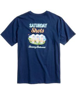 Men's Saturday Shots Graphic-print T-shirt