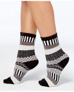 Women's Fair Isle Boot Socks