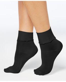 Women's Ruffled Luster Socks