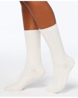 Women's Pointelle Boot Socks