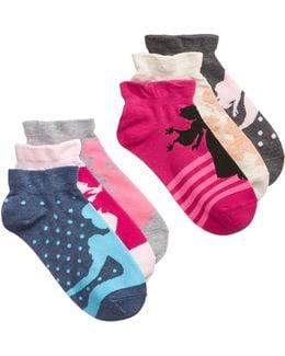 Women's 6-pk. Assorted Princesses Socks