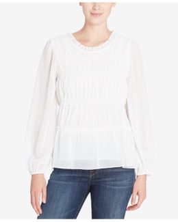 Shirley Tiered Peasant Top