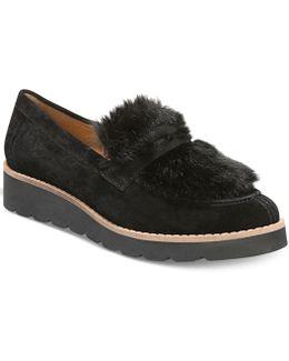 Harriet Wedge Loafer Flats