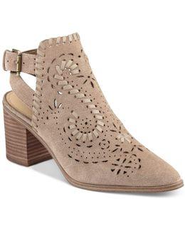 Dora Block-heel Booties