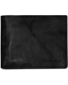 Men's Leather Crunch Passcase