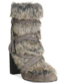 Alberta Faux-fur Booties