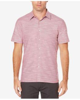 Men's Textured Cotton Shirt