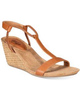 Mulan Wedge Sandals