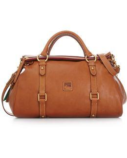 Handbag, Florentine Vaccheta Satchel
