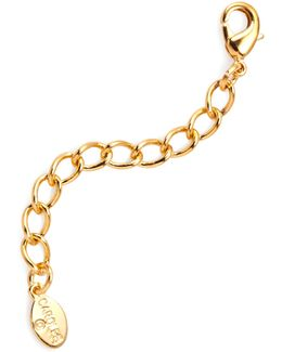 "Necklace Extender, 2"" Gold-tone"