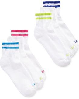 Mini Crew 6 Pack Socks