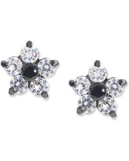 Crystal Star Stud Earrings