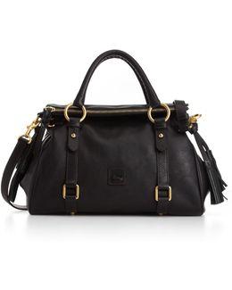 Florentine Vachetta Small Leather Satchel