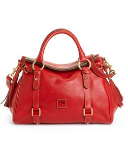 Handbag, Florentine Vachetta Small Satchel