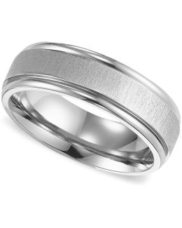 Men's Titanium Ring, Comfort Fit Wedding Band