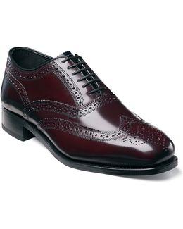 Shoes, Lexington Wing Tip Oxford Shoes