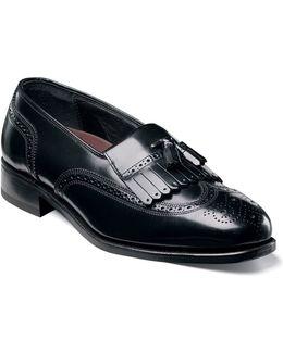 Shoes, Lexington Kiltie Tasseled Wing Tip Slip On Loafers